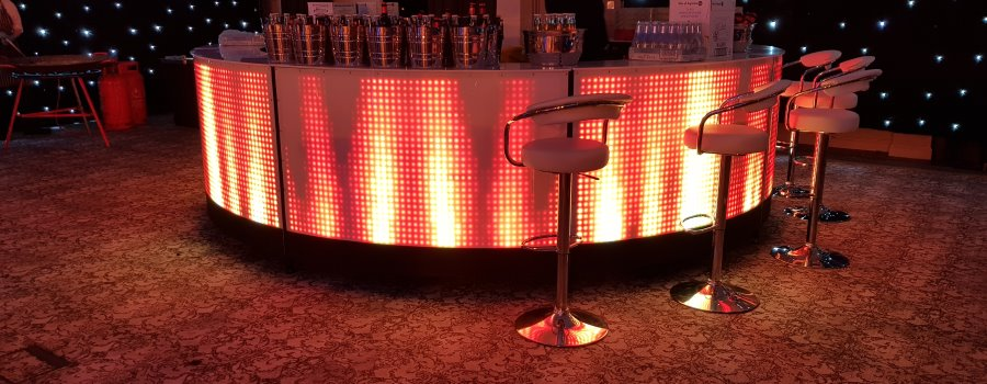 Animated Bar hire for events
