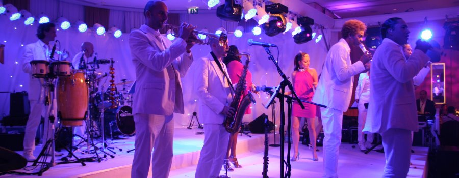 Entertainment band covers for private party hire