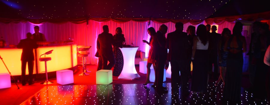 Private party planners with entertainment