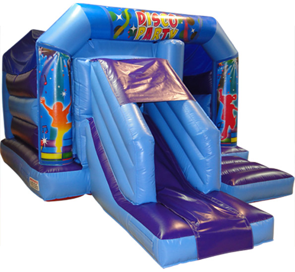 Bouncy Castle with a slide on the side in Berkshire