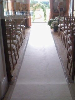 Ivory Carpet hire