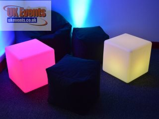 Soft Cube Seats and Foot Stools