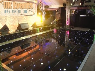 Black starlit dance floor sales