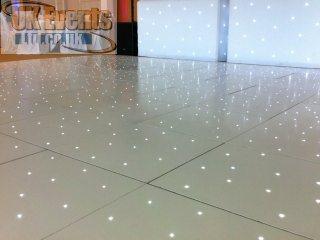 white starlit dance floor sales