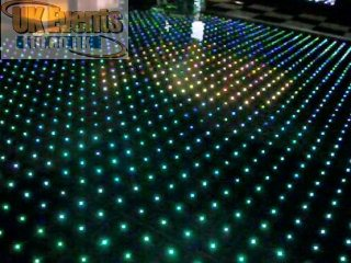 RGB Colour changing starlit dance floors