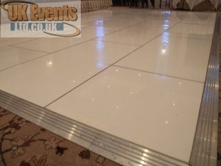 pure white dance floor sales