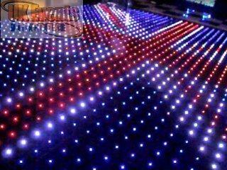 Pixel Starlit RGB Dance Floor