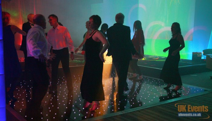 a disco at UK Events for a corporate function in Heathrow