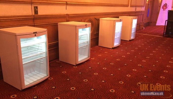 portable freezer and fridges rentals
