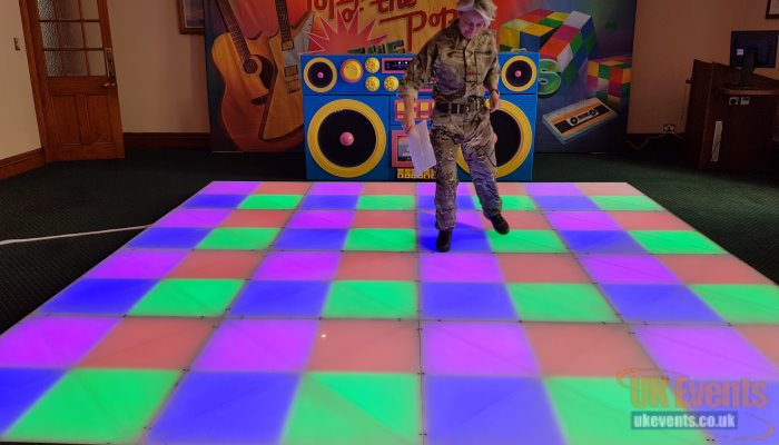 Colour Changing Dance Floor that Lights up