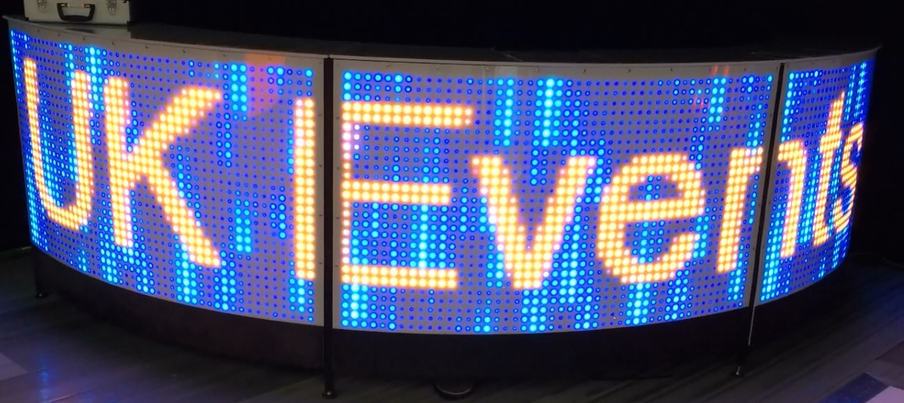 LED room Uplighters