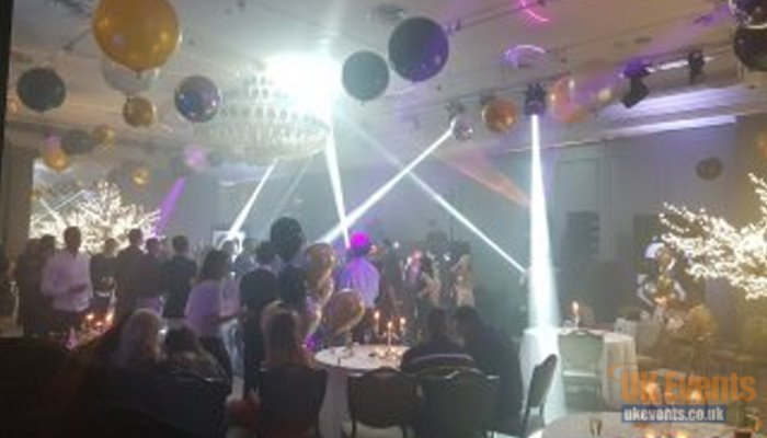 awards night sound and lighting from UK Events Production Cambridgeshire