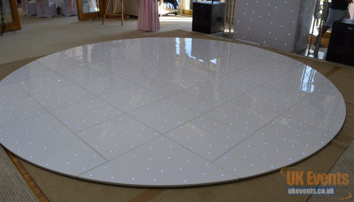 The World's first light up RGB circular dance floor
