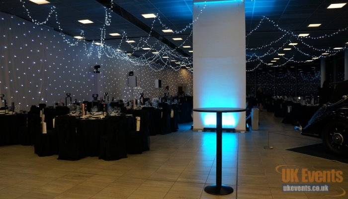 small or large events with star cloth backdrops
