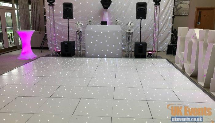 wedding dance floor in London