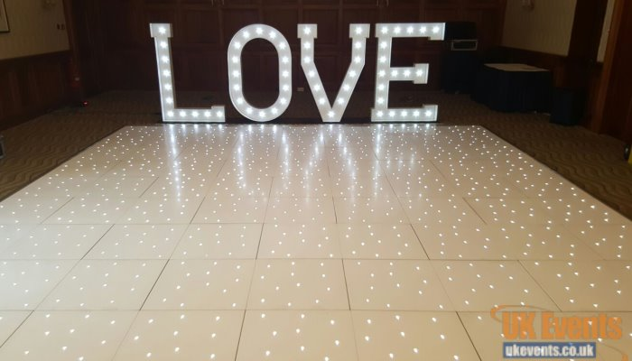 high shine dance floor in any size