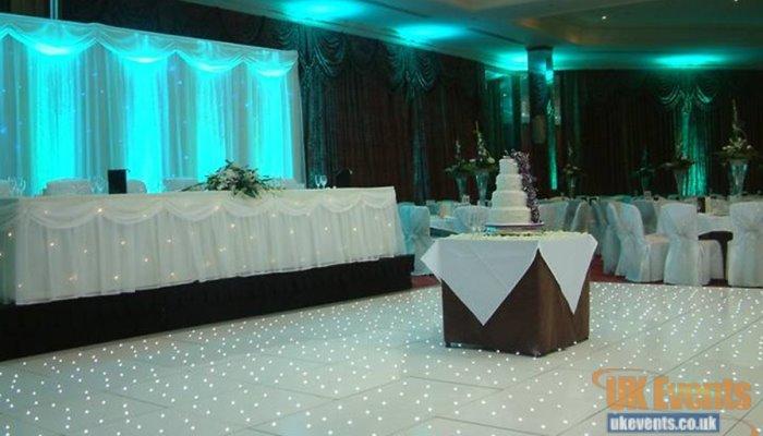 Buy a white starlit LED dance floor