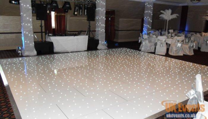 led white starlight dance floor