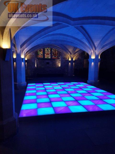 Multi Coloured Dance Floor