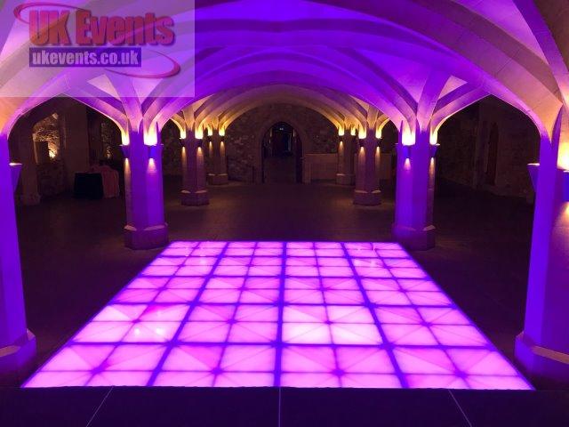 Rasied Light up flooring