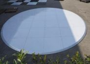 We are in the process of ordering the worlds first full circular starlit dance floor.