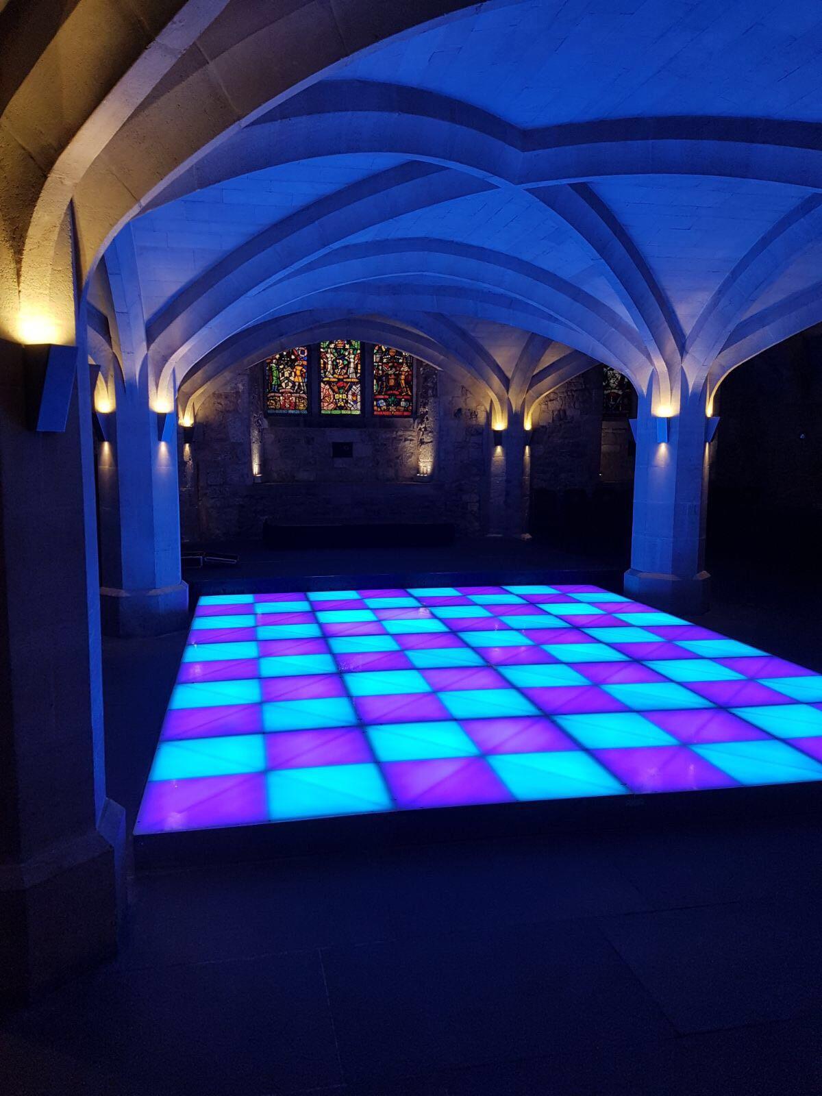 Night Fever Disco Dance Floor