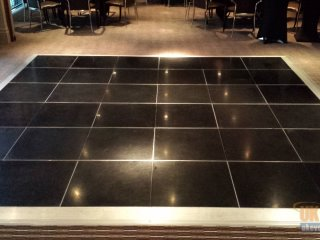 hotel black dance floor rentals