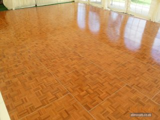 a wooden dance floor for hire