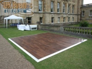Outside flooring for a hotel