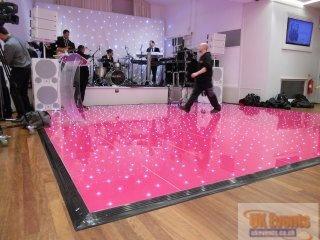 pink dance floor