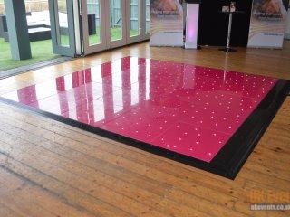 pure pink starlit dance floor