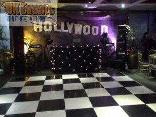 hollywood dance floor party