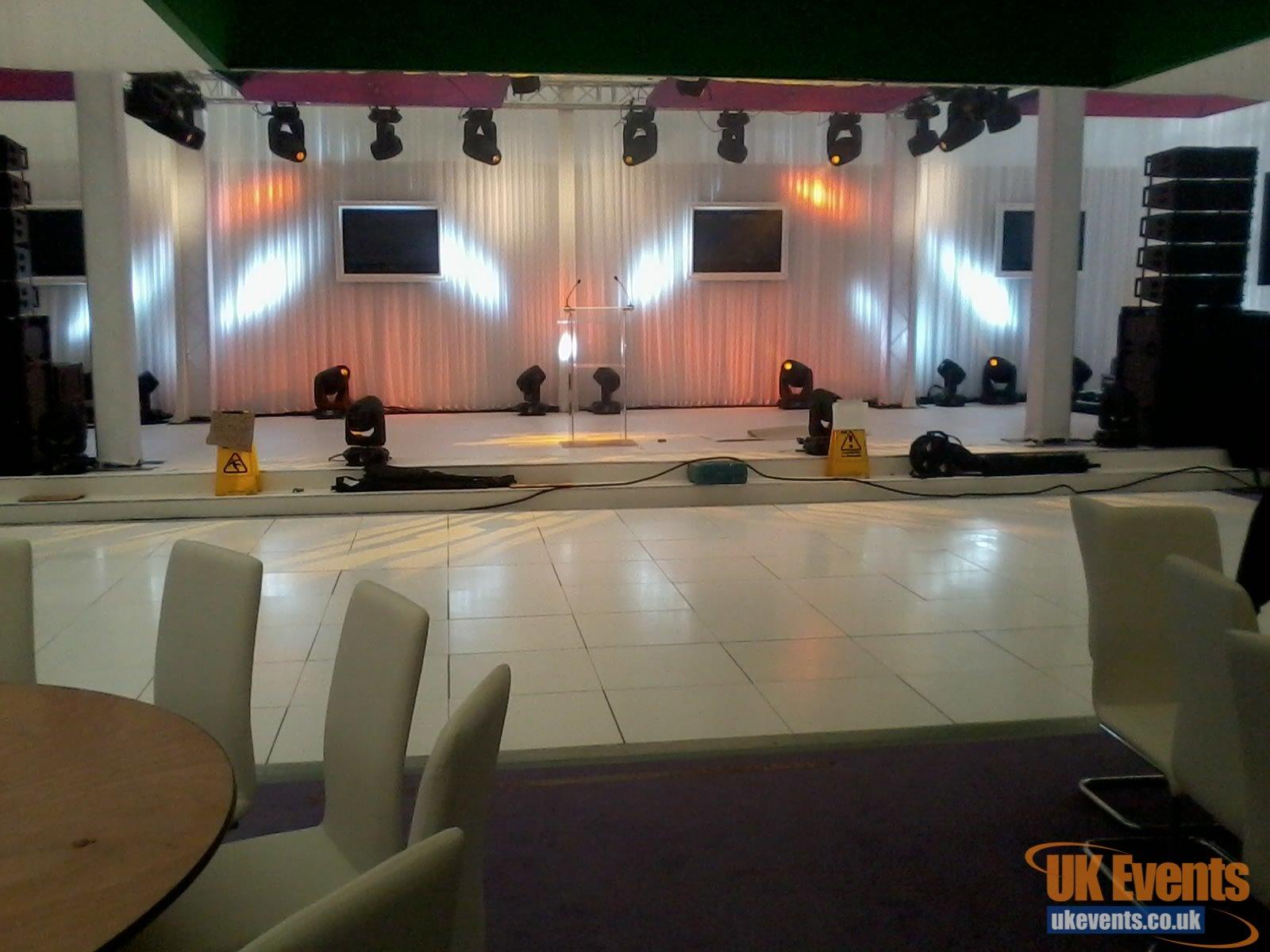 hotel white dance floor rentals