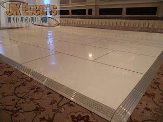 gloss white floors