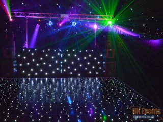 mobile disco and lighting for a party