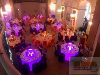 LED Banquet tables for hire