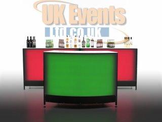 LED cocktail bar rentals