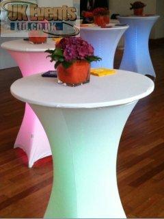 green poseur table