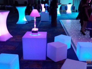 wireless light up tables