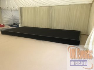 marquee stage hire