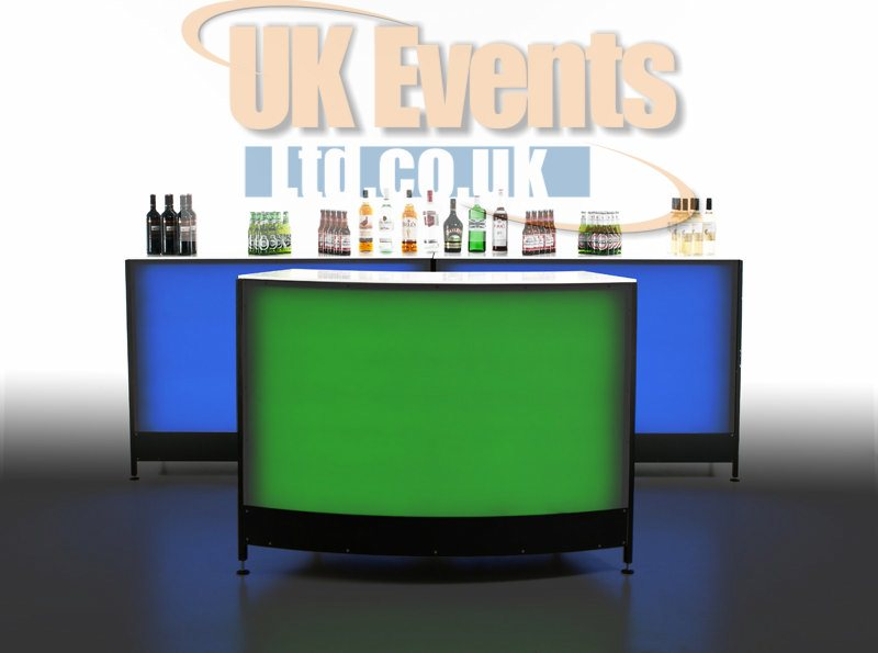 LED Light Up  Bar Hire