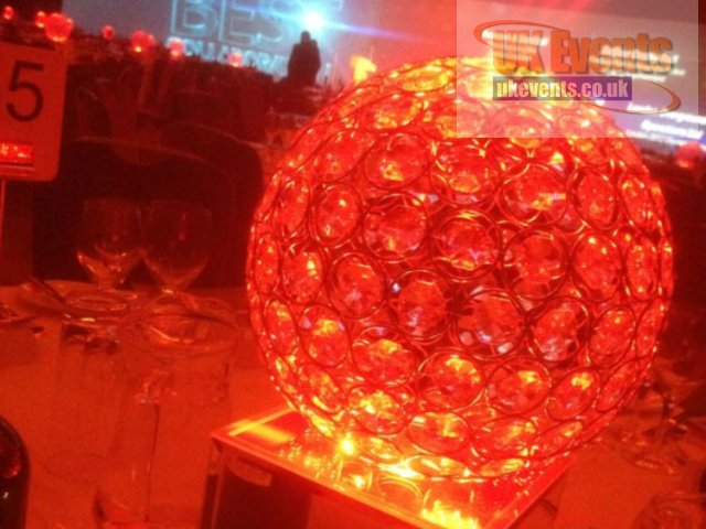 Crystal Table Centre