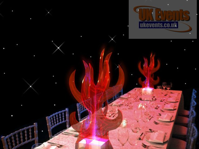 Flame Table Centre