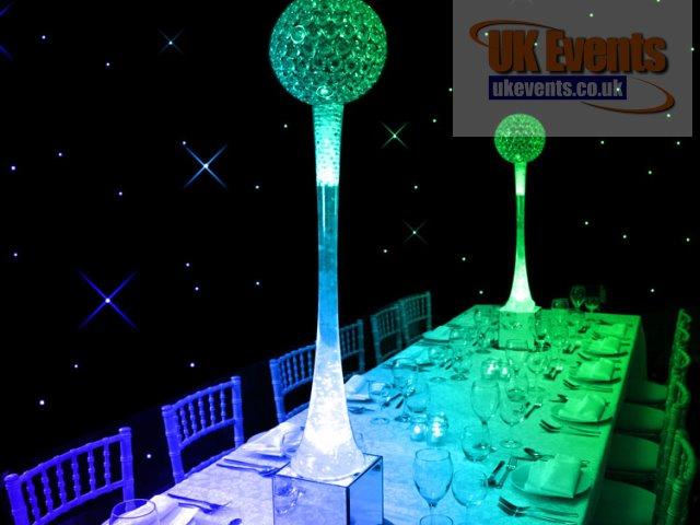Crystal Ball Table Centre