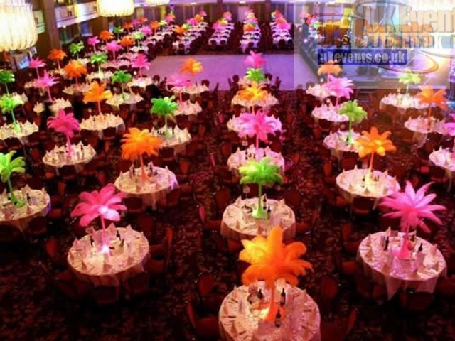 light up Table Centres Bedfordshire