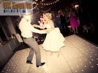White Wedding Floor