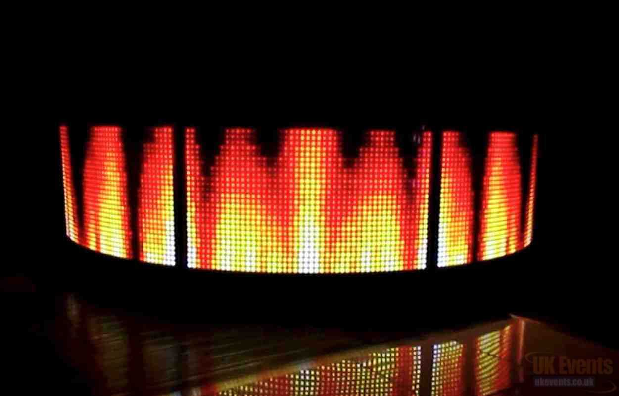 LED Bar and Dance Flooring Hire