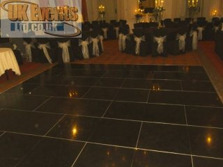 Black Dance Floor Hire