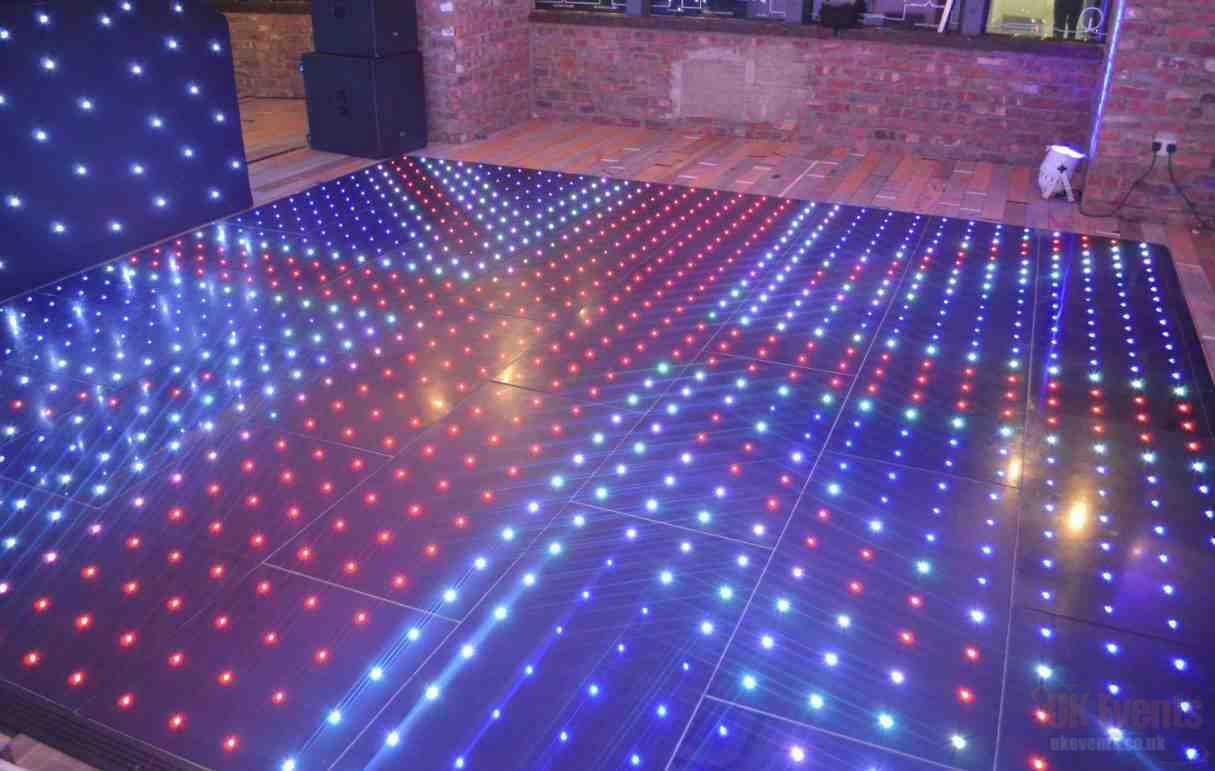 LED Colour Changing Dance Floor Hire