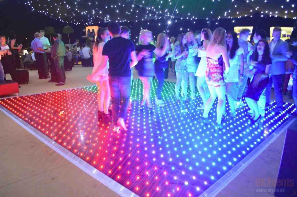Colour Changing Dance Floor Hire